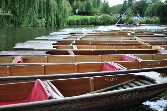 The River Cam: Permission to come aboard ladies...