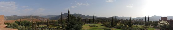 Kasbah Angour Atlas Mountains Hotel: View from Angour Deluxe Suite Terrace