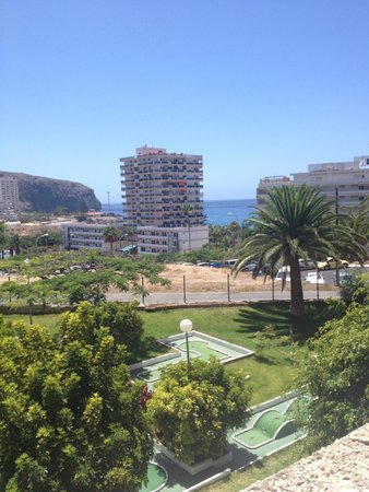 TRYP Tenerife: view from our first floor room