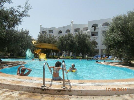 Hammamet Garden Resort & Spa: Piscine toboggan