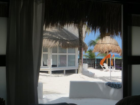 Shambala Petit Hotel: View from my bed!