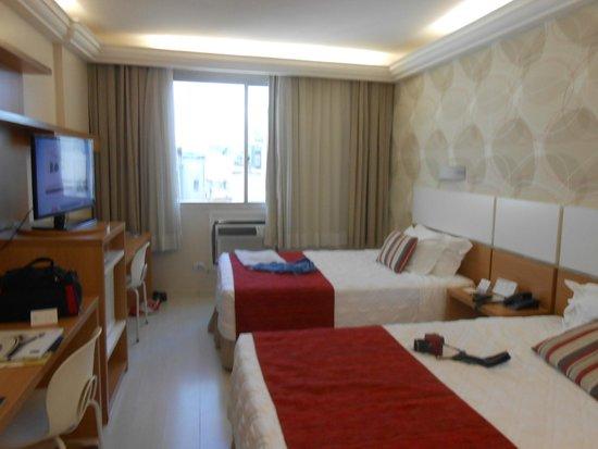 Copa Sul Hotel: quarto casal com duas camas