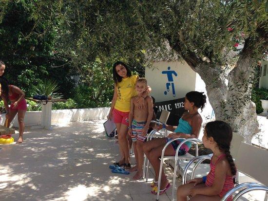 Hammamet Garden Resort & Spa: Foufa animatrice enfant