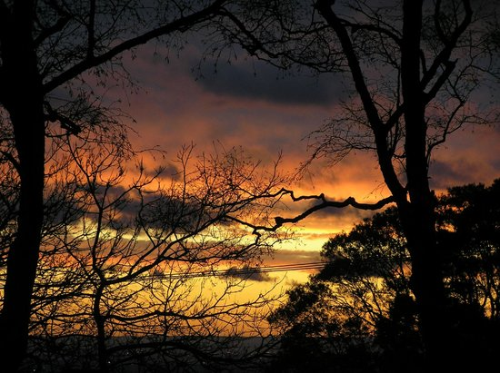 Observatory Cottages: Beautiful Sunsets