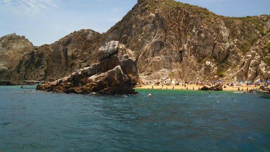 Cabo Adventures: snorkeling near lover's beach