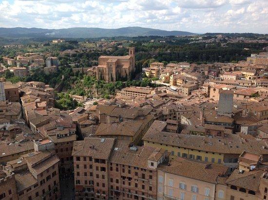 Basilica di San Domenico: View showing the impressive siting of the Basilica