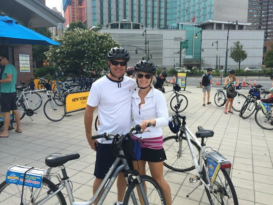 Bike and Roll NYC : Such a fun day touring the city via bike with Dan G from Bike and Roll!