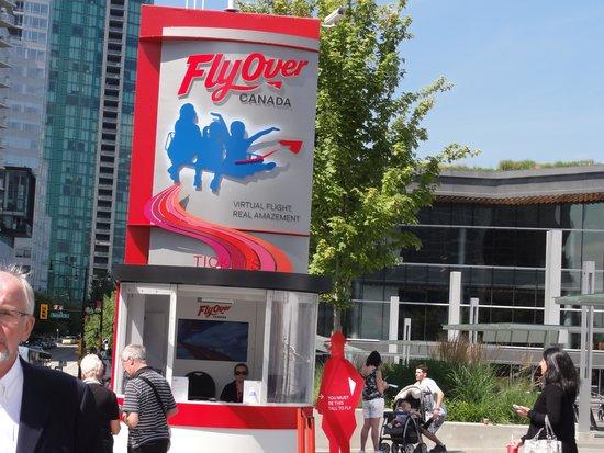 FlyOver Canada : チケット売り場