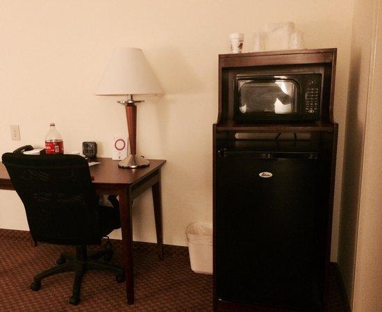 Comfort Suites Indianapolis Airport: Nice larger fridge