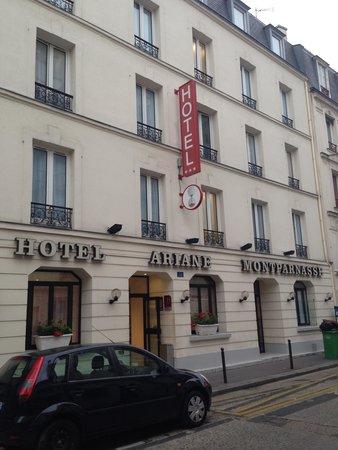 Hotel ariane montparnasse picture of hotel ariane for Ideal hotel montparnasse