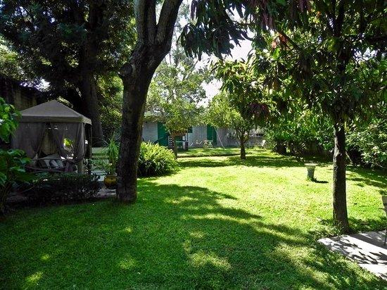 La Casa del Retono: Grounds to the rear