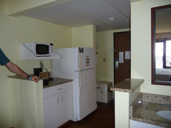 DoubleTree Resort by Hilton Myrtle Beach Oceanfront: Kitchen Area