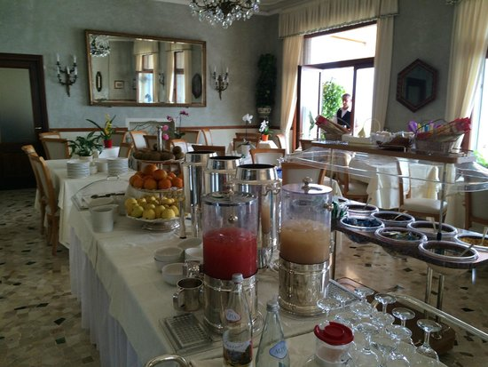 Hotel Rigoli: just a sampling of the delicious breakfast