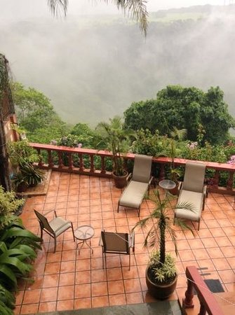 Casa Bella Rita Boutique Bed & Breakfast: view of the terrace