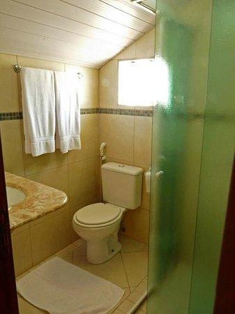 Pousada Pedra Salgada: Banheiro do quarto