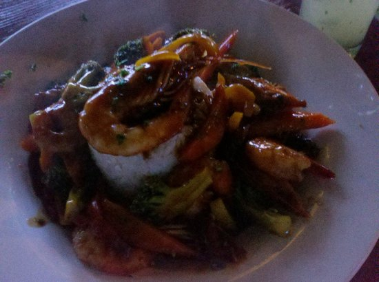 Lazy Dog Beach Bar and Grill Cabarete : One of their signature dishes