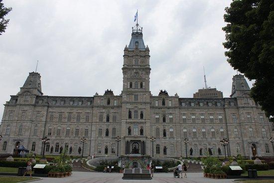 Parliament Building (Hotel du Parlement) : Parlamento de Quebec