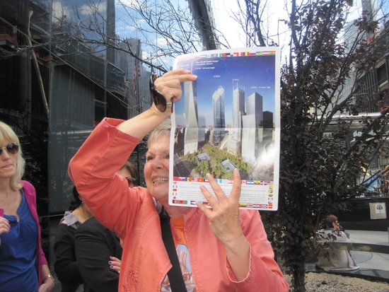 Visit New York Tours: the tour end showing a new beginning