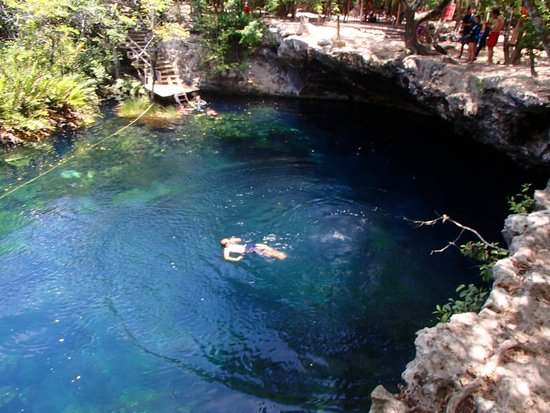Local Quickies: cooling off in the cenote