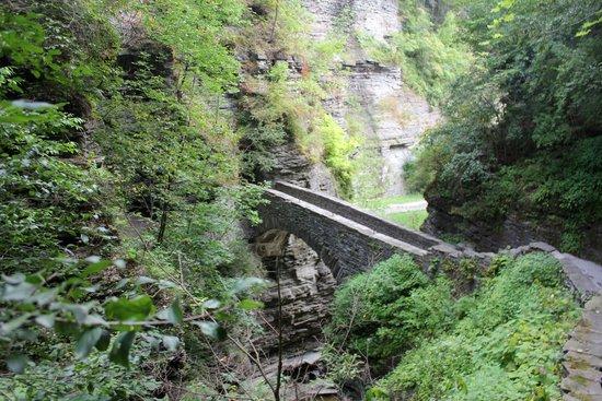 Watkins Glen State Park : Sentry bridge
