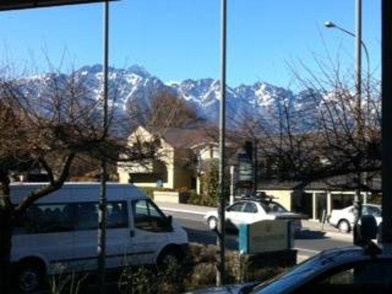 Millennium Hotel Queenstown: view from front of hotel