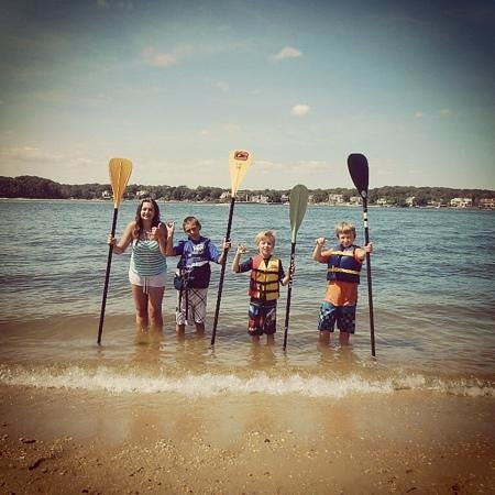 Paddle Surf New Jersey: SUP Lesson, 8-28-2014