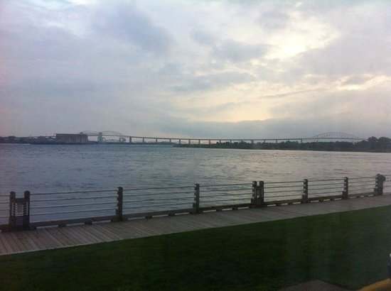 Delta Sault Ste. Marie Waterfront Hotel: The view from room 124