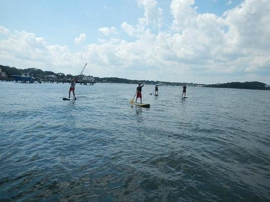 Paddle Surf New Jersey: SUP Lesson, 08-31-2014