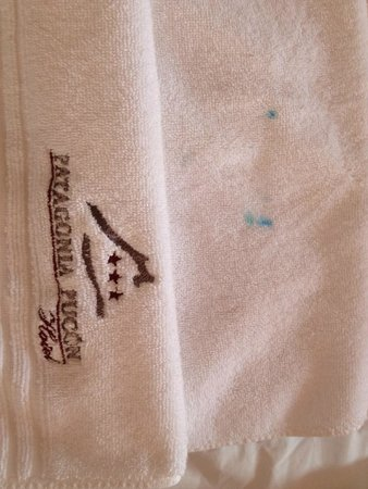 Hotel Patagonia Pucon : la toalla