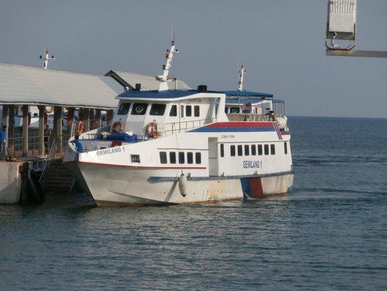 Selesa Tioman Condo Hotel : Ferry to go to Mersing