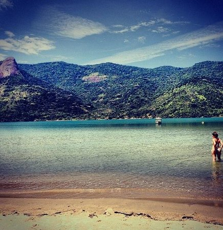 Refugio Mamangua Paraty: The ocean