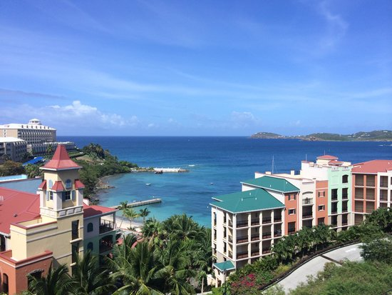 Marriott's Frenchman's Cove: Looking over resort