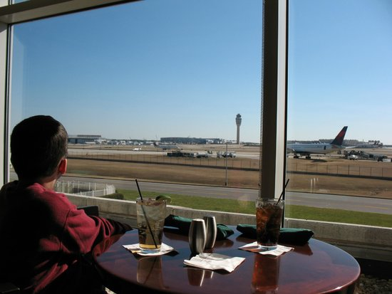 Lounge View Of Airport Operations Picture Of Renaissance Concourse