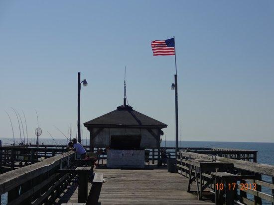 Ocean Crest Pier: end of pier