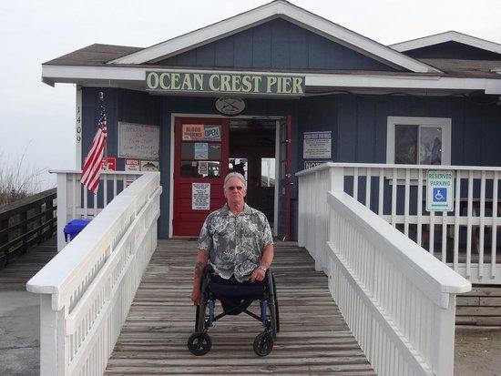 Ocean Crest Pier: accessible