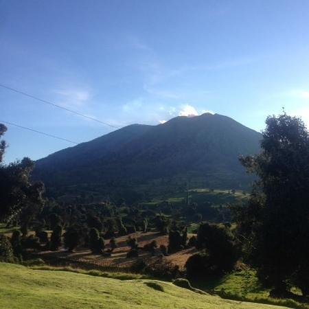 Volcan Turrialba Lodge: 6:10 de la mañana
