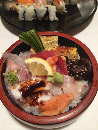 Sushi Hanada: Chirashi.