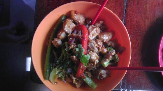 Cafe Escondido: rice bowl
