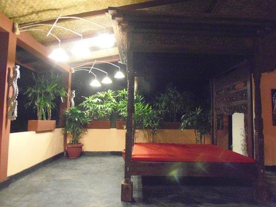 Kupu Kupu Barong Villas and Tree Spa : หน้าห้อง