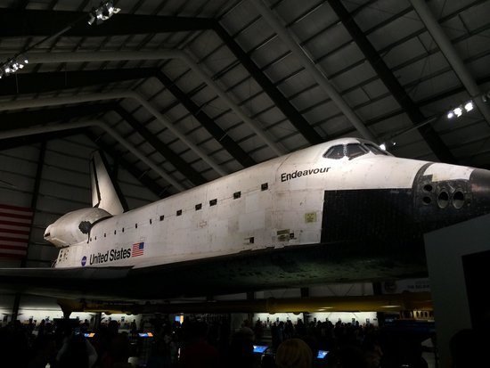 Natural History Museum of Los Angeles County: Space shuttle