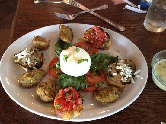 Trattoria Toscana: Delicious appetizers