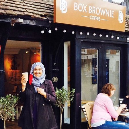 Box Brownie Coffee : Perfect coffee in the perfect location.