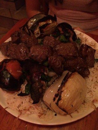 Open Sesame : Beef skewer