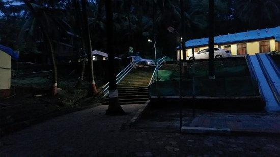 MTDC Beach Resort Ganapatipule: Resort area