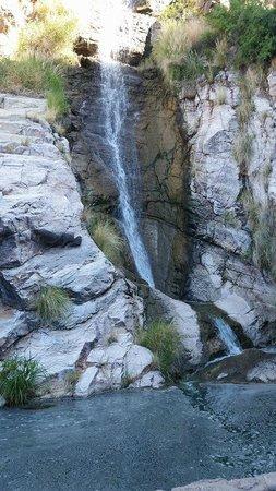 Loews Ventana Canyon Resort: Waterfall at the Walking Trail
