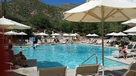 Loews Ventana Canyon Resort: Wonderful Pool Area