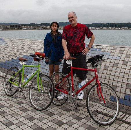 Kamakura Miracle Cycling Tours: End of Tour....