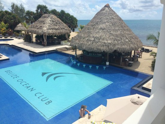 Belize Ocean Club Resort: photo from our room :)