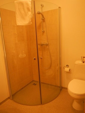 Lambastadir Guesthouse: Shower