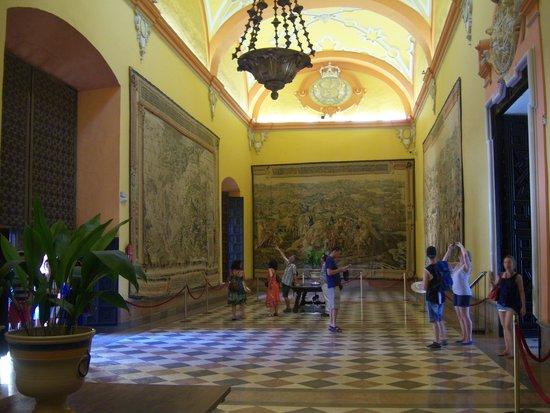 Alcázar: palazzi nuovi
